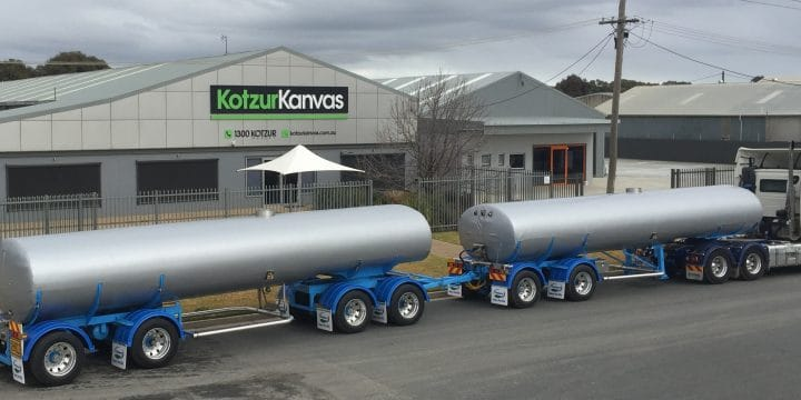 Insulated Tanker Covers – for Milk Transport